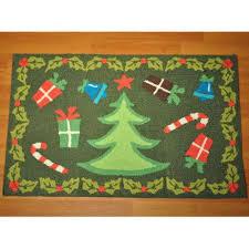 Tree Rugs Dynamic Rugs Christmas Tree Rug 1 U00278 X 2 U00278 Walmart Com