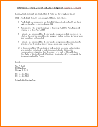 10 legal consent form for travel with child ledger paper