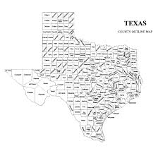 Counties In Texas Map Texas County Map U2013 Jigsaw Genealogy