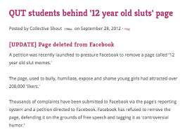 12 Year Old Slut Memes - facebook leaks data on insecure teens to advertisers collective