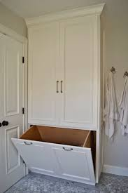 Bathroom Cabinet With Hamper Laundry Room Bathroom Laundry Hampers Design Bathroom Cabinet
