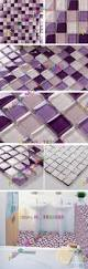 purple kitchen tiles