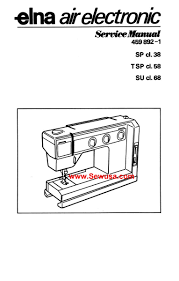 elna sewing machine service manuals