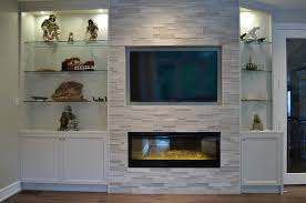 Electric Fireplace Design Services Toronto Stylish Fireplaces - Design fireplace wall