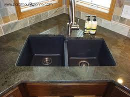 Black Granite Kitchen Countertops by Ideas Alluring Appealing Black Granite Kitchen Sinks And Square