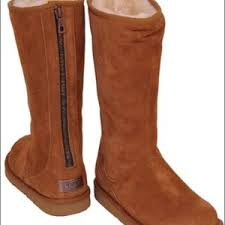 zipper ugg boots sale 48 ugg shoes uggs with zipper back from ayah s closet
