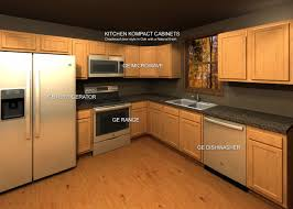 how to price cabinets kitchen kompact cabinets with ge kitchen appliance