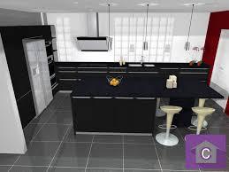cuisine moderne avec ilot délicieux cuisine equipee ilot central 13 3d cuisine moderne