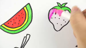 coloring pages vegetables drawing for children u0026 colouring for