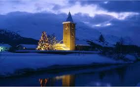 winter winter snow gorgeous landscape christmas lights nature