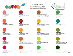 color chart and printing help u2013 the sweet adventures of sugar belle