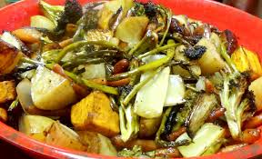 Oven Roasted Root Vegetables Balsamic - recipe for or how to make roasted vegetables with a balsamic glaze