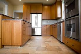 what color floors match light maple cabinets in the kitchen hunker