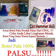 hammer of thor botol palu 100 palsu klg herbal