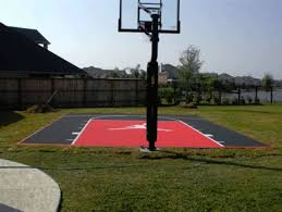 Backyard Basketball Hoops by Outdoor Basketball Court Tile For Backyard Courts