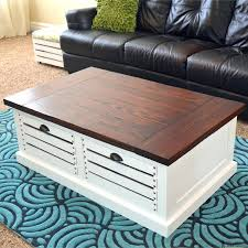 building table with storage diy coffee table with drawers add storage to your living areas by