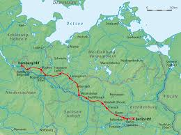 Germany Rail Map by Berlin U2013hamburg Railway Wikipedia