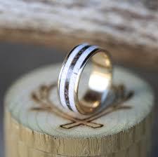 t junction wedding band staghead designs design custom wedding bands wood antler
