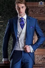 costume bleu mariage italien costume de mariage bleu royal de mohair alpaga ongala
