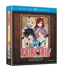 When Will Fairy Tail Anime Resume Amazon Com Fairy Tail Collection One Blu Ray Dvd Combo