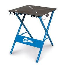 miller 30fx folding arcstation work bench for sale 300837