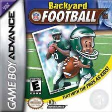 Backyard Football 2002 Cheats Sports Football Nintendo Boy Advance Video Games Ebay