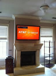 tv mount over fireplace binhminh decoration