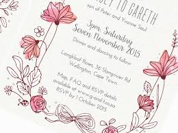 Wedding Invitations Cape Town Wedding Invitations Blackkbird