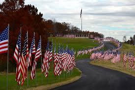 Usa Flag Cape Veterans Day Flags 2013 U2013 Cape Girardeau History And Photos