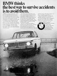 bmw ads bmw thinks the best way to survive accidents is to avoid them