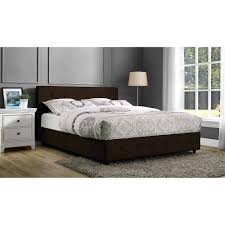 Leather Upholstered Bed Dhp Dakota Faux Leather Upholstered Multiple Colors Multiple