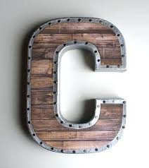 metal letters wall decor wall metal letter galvanized large galvanized metal letters wall plate design ideas