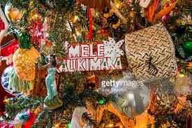 hawaiian drummer boy tree ornament stock photo getty