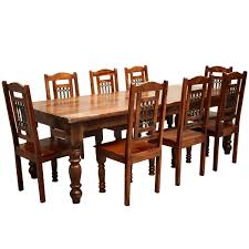 Large Dining Tables And Chairs Solid Wood Rustic Furniture Descargas Mundiales Com