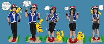 pokemon ash gender swap images pokemon images