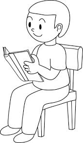child sitting clipart boy sitting in chair clip art 25