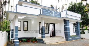 730 square feet single bedroom kerala home design at 4 5 cent
