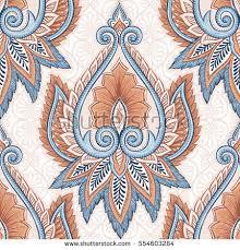 ornamental hand drawn ethnic decorative flower stock vector