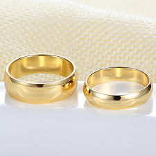 popular cheap gold rings for men buy cheap cheap gold rings gold engagement ring for men women alliance casamento