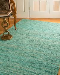 Hand Loomed Rug Barras Leather Rug Natural Home Rugs