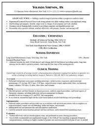 Skills And Capabilities Resume Examples by 7 New Graduate Nurse Resume Examples Resume New Grad Nurse