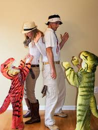 dinosaurs and dinosaur trainers family costume halloween