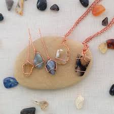 diy stone pendant necklace images Two ways to wire wrap undrilled stone pendants jewelry making jpg