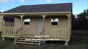 Derksen Portable Finished Cabins At Enterprise Center Youtube Custom Cabins Builders Ranch Cabin Youtube