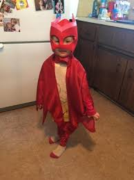 pj masks owlette deluxe toddler costume walmart