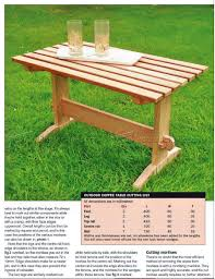 Patio Furniture Plans by Outdoor Coffee Table Plans U2022 Woodarchivist