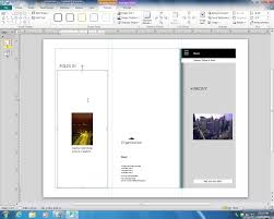 creating a brochure in publisher 2010 youtube