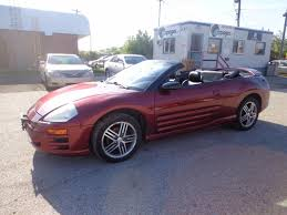 spyder mitsubishi used 2004 mitsubishi eclipse certified spyder gt for sale in