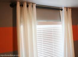 Merete Curtains Ikea Decor Dawson S Bedroom Reveal Aqua Design