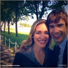 Is Christopher Gorham Blind In Real Life Piper Perabo Annie Walker And Christopher Gorham Auggie Anderson